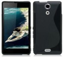 X-Cell Case For Sony Xperia ZR - Black