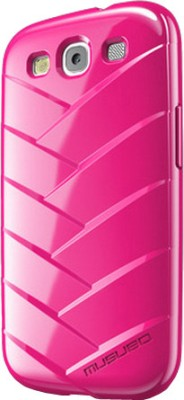 Musubo Back Cover for Samsung Galaxy S3 Neon Magenta