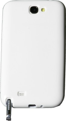 iAccy Back Cover for Samsung Galaxy Note 2 White available at Flipkart for Rs.49