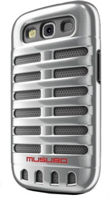 Musubo Back Cover for Samsung Galaxy S3 Silver