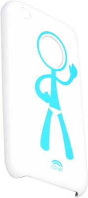 I Cover Back Cover for iPhone 3 / 3G White