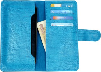 D.rD Wallet Case Cover for Lava iris 504Q available at Flipkart for Rs.309