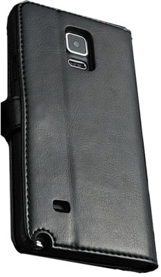 Samsung Excelsior Wallet Case Cover For Samsung Galaxy Note 4 (Black)