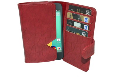 Totta Wallet Case Cover for Spice Xlife 512
