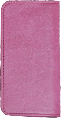 D.rD Wallet Case Cover for Videocon A45 Pink available at Flipkart for Rs.309