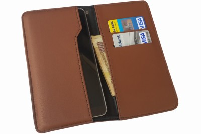 Onkarta Wallet Case Cover for Nuvo Blue ND40