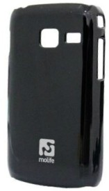 Molife Back Cover For Samsung Galaxy Y Duos - Black