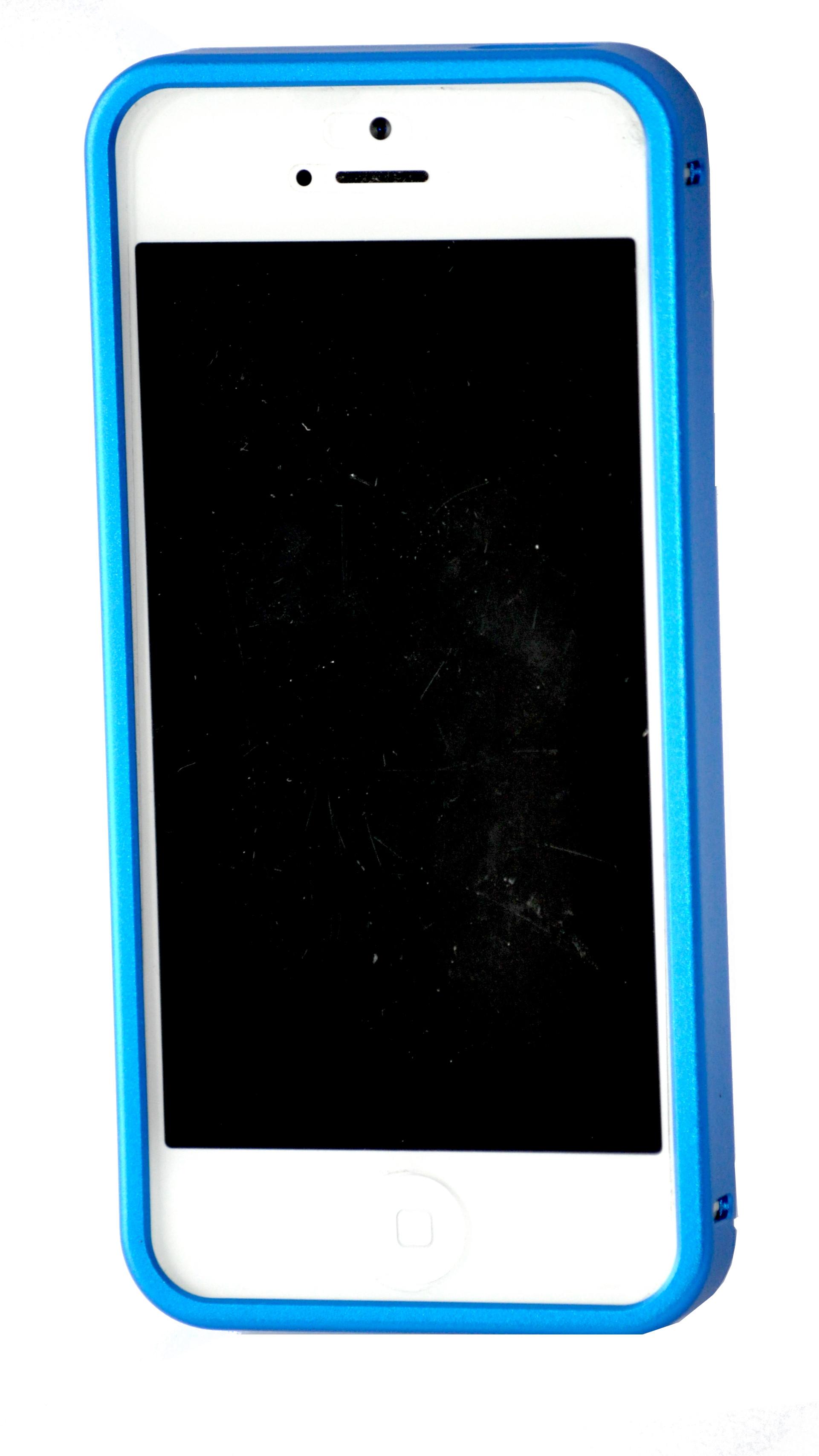 huge selection of 298fc d0cca Buy RL Idea Bumper Case for iPhone 5 / 5S Matte Blue @ ₹ 1798 by RL ...