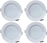Bene LED 7w Blaze Recessed Light, Color Of LED Warm White (Pack Of 4 Pcs) Recessed Ceiling Lamp