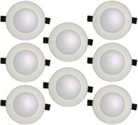 Bene Bene 6w Glare Recessed Light, Color Of LED Red (Pack Of 8 Pcs) Recessed Ceiling Lamp