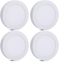 Bene Bene LED 24w Round Surface Panel Ceiling Light, Color Of LED White (Pack Of 4 Pcs) Flush Mount Ceiling Lamp