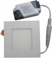 VRCT 3W LED Ceiling Panel Table Lamp (4 Cm, White)