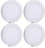 Bene Bene LED 12w Round Surface Panel Ceiling Light, Color Of LED White (Pack Of 4 Pcs) Flush Mount Ceiling Lamp