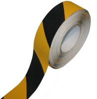 Bapna Single Sided 2'' Inch X 18 Meter Length Small Anti Slip Tape Anti Skid (Manual) (Set Of 1, Yellow/black)
