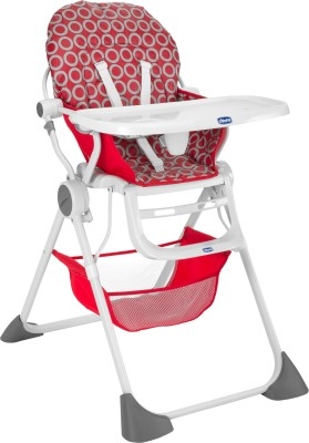 Chicco Pocket Lunch Highchair Wave (Red)