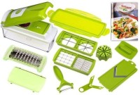 Genius Nicer Dicer Dicer Plus Chopper Green