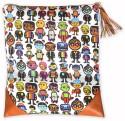 Quirk Box Minion Clutch Bag White  Clutch - Multicolor