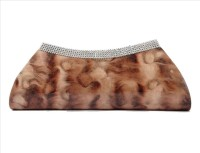 Regalovalle Women Casual Brown PU  Clutch