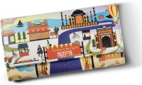 Mad(e) In India Agra Monuments Women's  Clutch - Multicolor