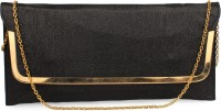 Do Bhai Festive, Party Black Synthetic  Clutch