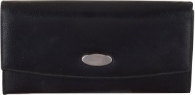 Bluwhale Formal, Casual, Wedding, Festive, Party Black Leather  Clutch