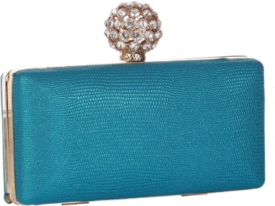 Get best deal for Alessia Women Casual Blue Synthetic Clutch at Compare Hatke