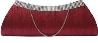 ANICKS Maroon  Clutch