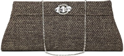 Anouk Jute Women Casual Brown Jute  Clutch