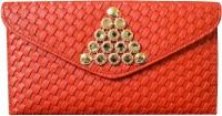 Shree Women Bag Women Party Red PU  Clutch