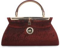 Do Bhai Festive Maroon Non-Leather  Clutch