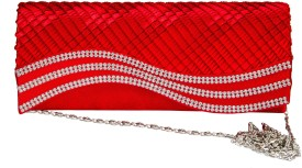 Fashion Knockout Casual Red PU  Clutch