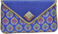 Women Trendz Women Casual Blue Other  Clutch