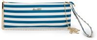 E2O Women Casual Blue PU  Clutch