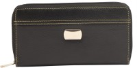 Blu Whale Women Casual Black Leather  Clutch