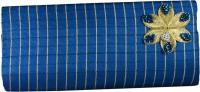 Arisha Kreation Co Women Casual Blue Silk  Clutch