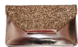 Prime Formal Gold PU Clutch