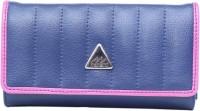 Monami Lifestyle 512 Women Casual Blue PU  Clutch