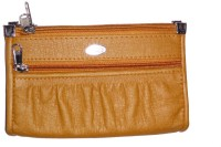 DesireMore Women Casual Brown PU  Clutch
