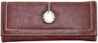 Utsukushii Women Casual Brown PU  Clutch - CLTE7S68APXWXXDG
