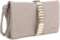 E2O Women Brown Artificial Leather  Clutch