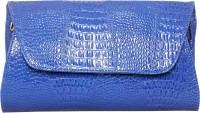 Ligans NY Elise Women Party, Casual Blue PU  Clutch