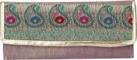 Vdesi Women Casual, Party Multicolor PU, Brocade, Silk, Satin  Clutch