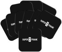 MeSleep Square Wood Coaster Set Black, Pack Of 10 - COAEAYDYAJFDG3VQ