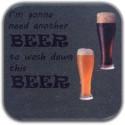 MeSleep Beer Wooden Coaster Set - Pack Of 4