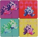 ARTychoke Waterlily MDF Coaster Set - Pack Of 4