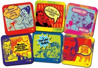 The Big Bag Theory Adholics Wood Coaster Set (Pack Of 6)