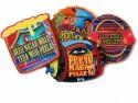 Roti Kapda Makaan Shades Of Paradise MDF Coaster Set - Pack Of 4 - COAEFFGXW3B3PAER