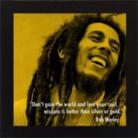 E-Studio Bob Marley Wood Coaster (Pack Of 1)