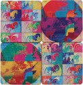 ARTychoke Horses & Birds MDF Coaster Set - Pack Of 4