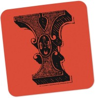 PosterGuy Square Wood Coaster Red, Black, Pack Of 1 - COAE87SNMZAGCFYR
